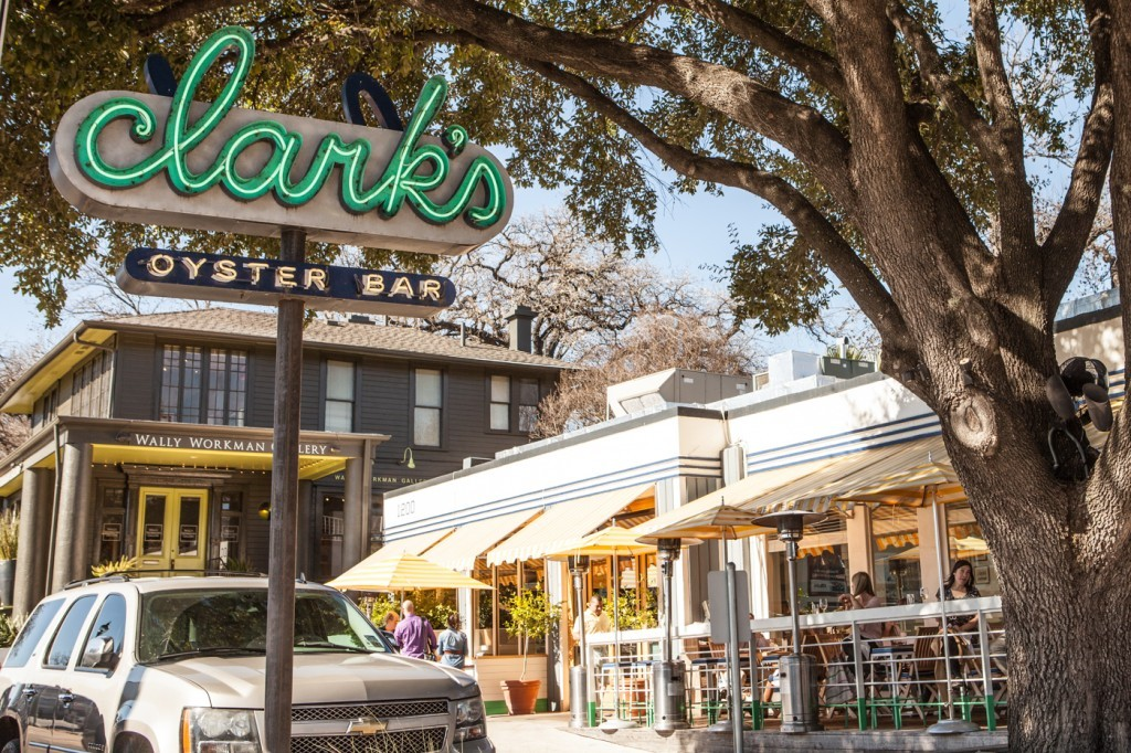 Clark's Oyster Bar Downtown Austin