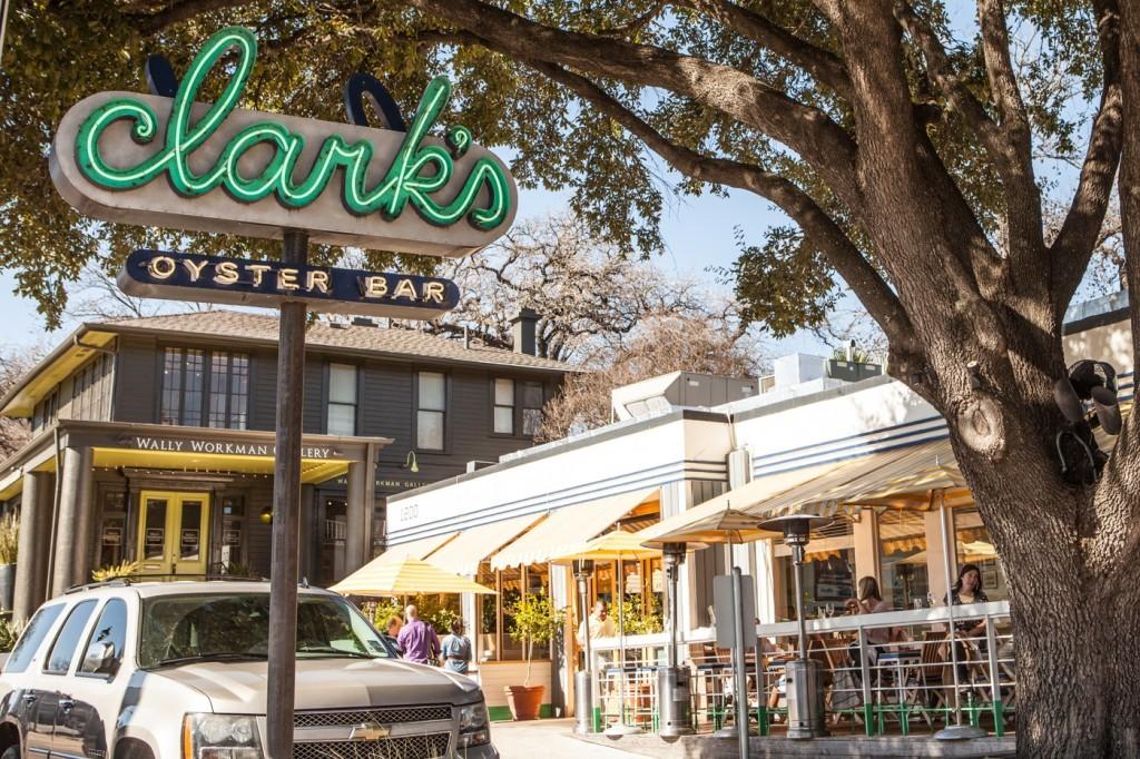 Clark's Oyster Bar Downtown Austin