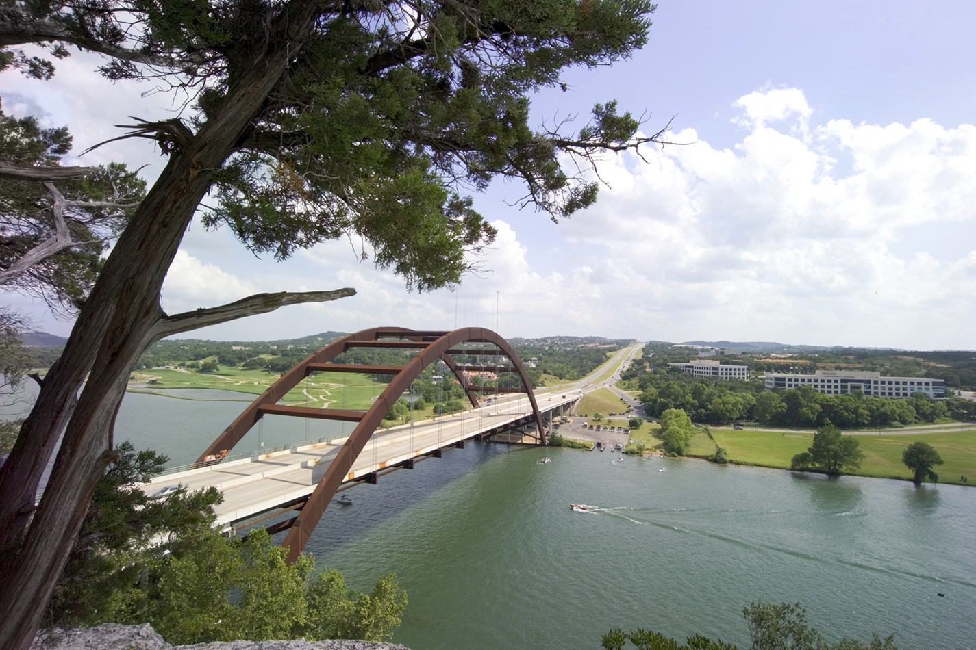 360 Bridge in Austin, TX over Lake Travis